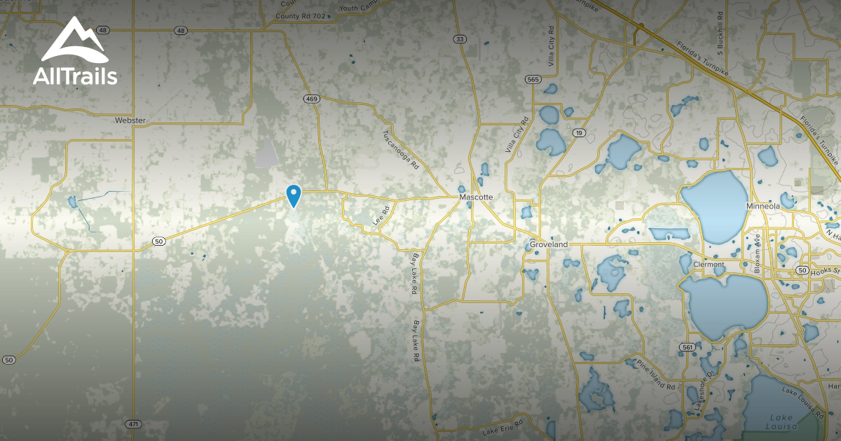 Groveland Florida Map.Best Trails Near Groveland Florida Alltrails
