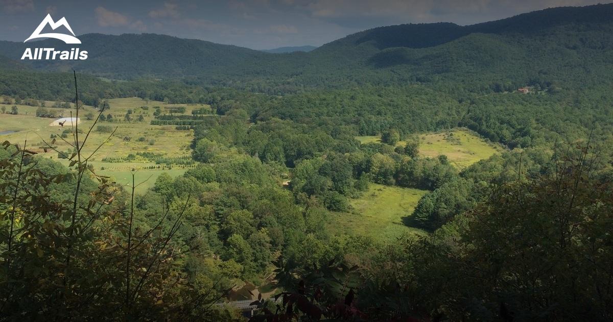 best trails near white sulphur springs  west virginia