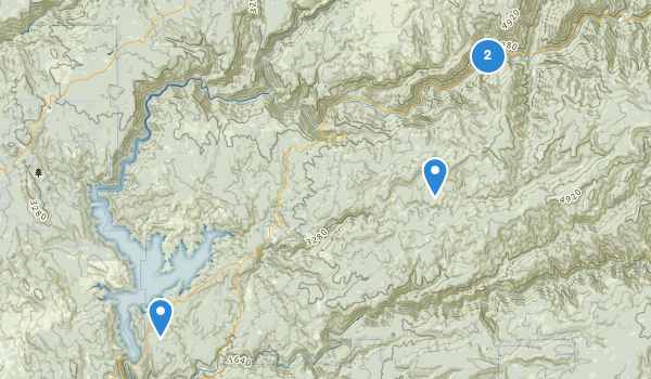 trail locations for Camptonville, California