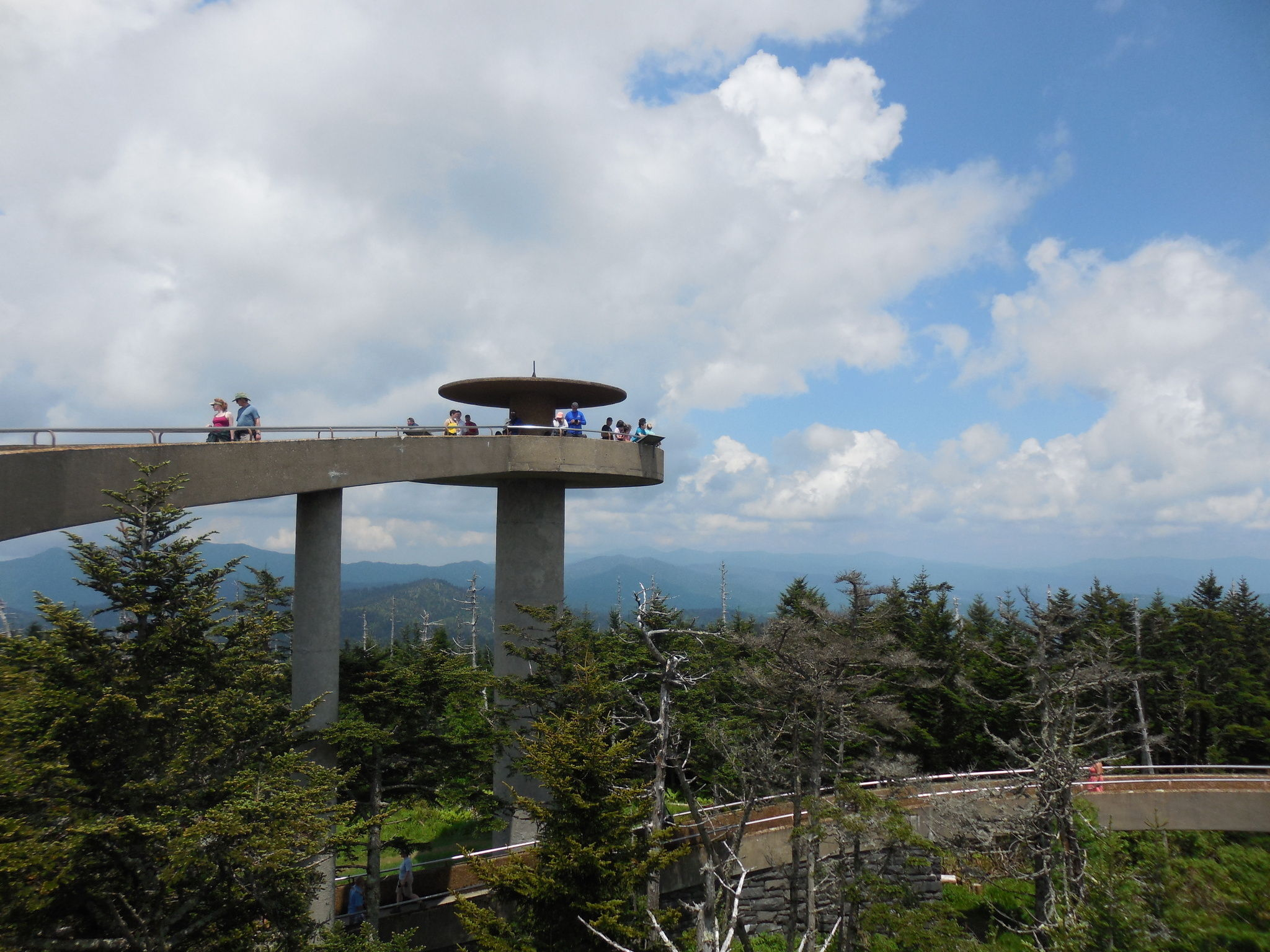 Clingmans Dome Observation Tower Trail - Tennessee ...