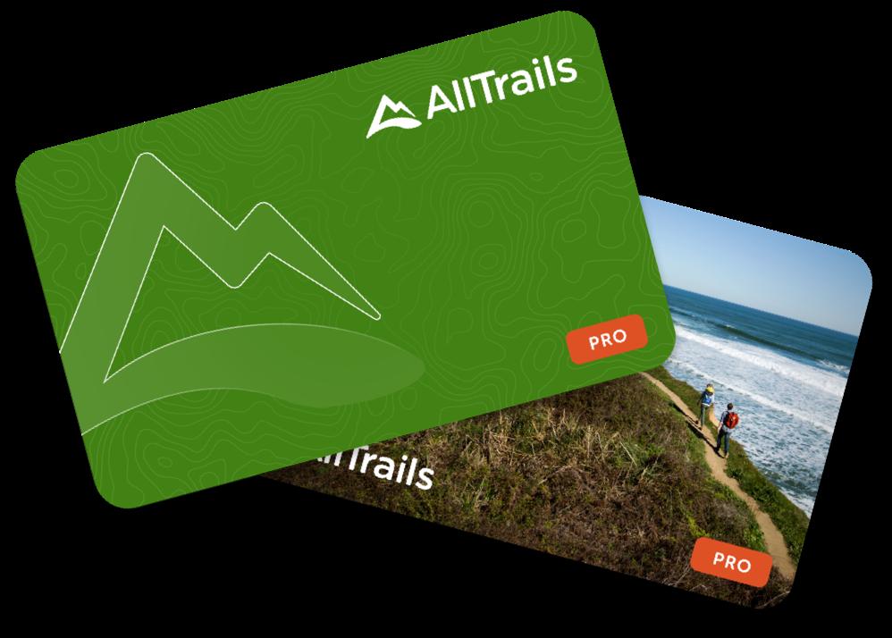 AllTrails gift cards