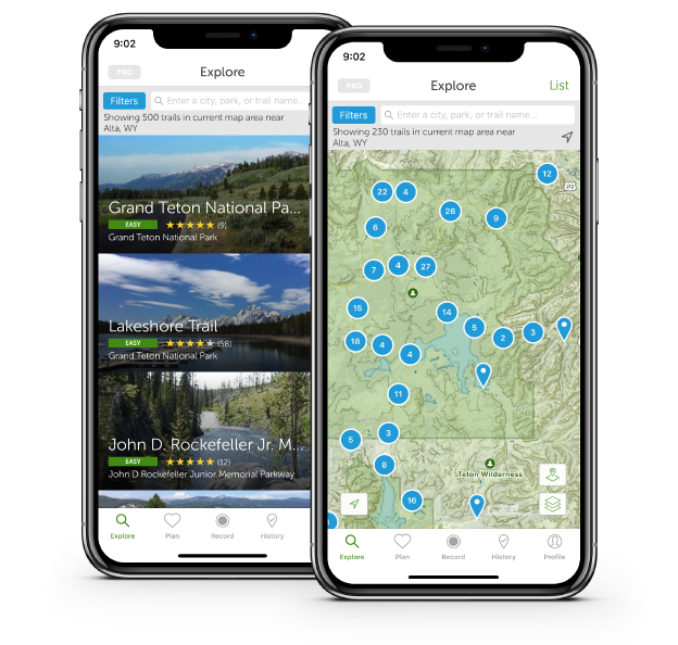 AllTrails: Trail Guides & Maps for Hiking, Camping, and Running