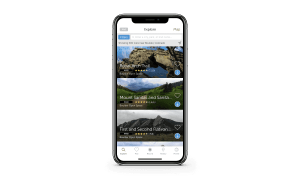 Outdoors Mobile Apps | AllTrails on