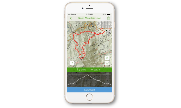 Outdoors Mobile Apps AllTrails - Trail map apps