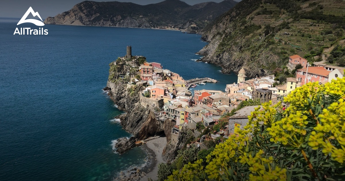Cinque Terre Italy Map Google on