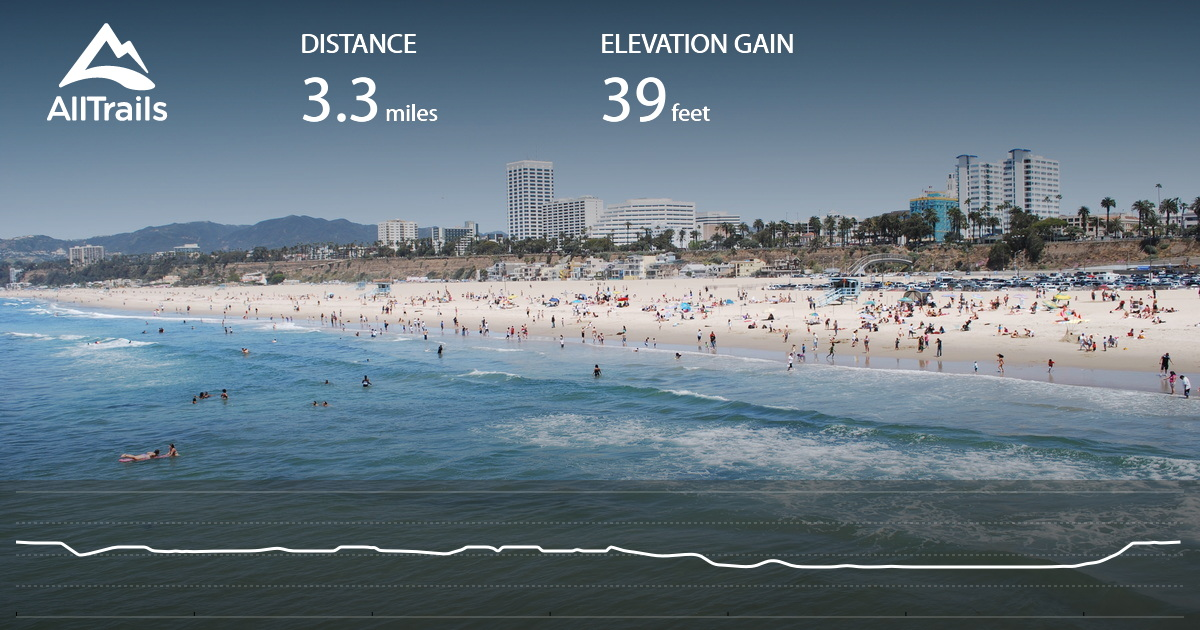 Santa Monica Pier, Boardwalk, and Beach Trail - California ...