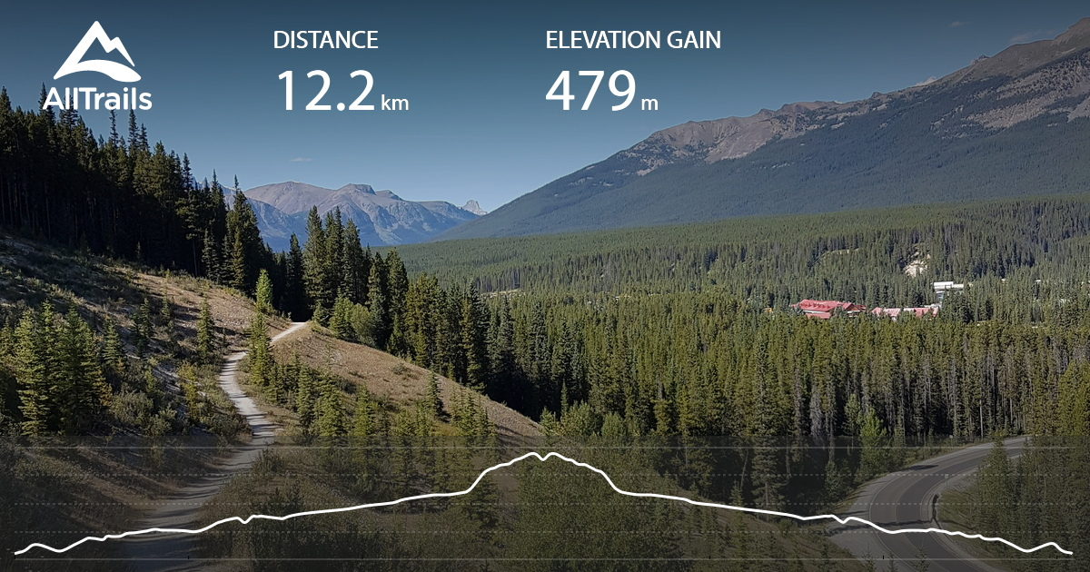 Lake Louise Tramline Trail to Fairview Lookout - Alberta ...
