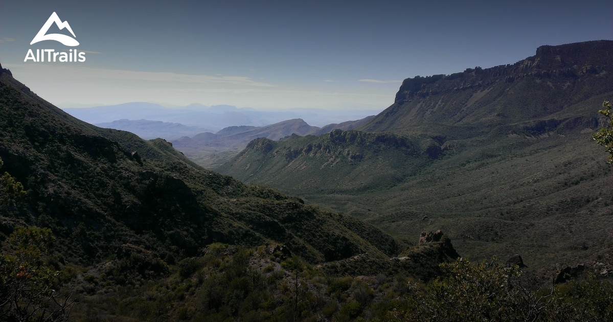 Best Trails In Big Bend National Park Photos Reviews - Big bend national park map us