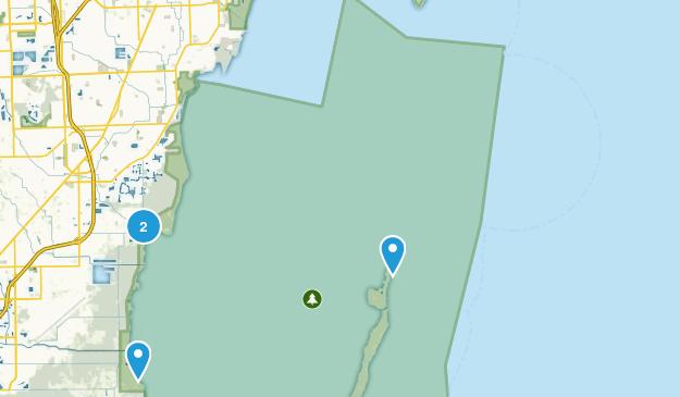 Biscayne National Park Map