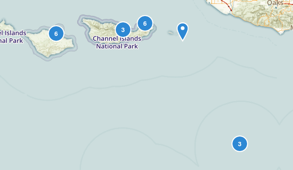 Channel Islands National Park Map