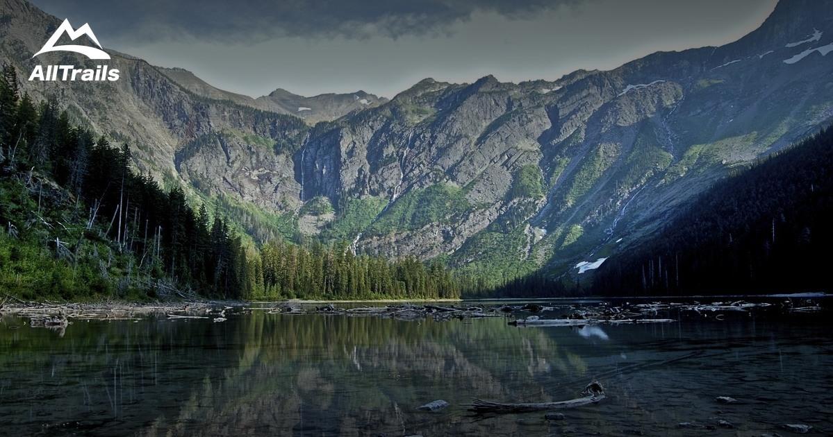 Best trails in glacier national park for Fishing in glacier national park