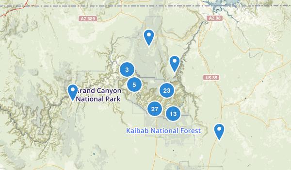 Grand Canyon National Park Map