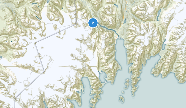 Kenai Fjords National Park Map