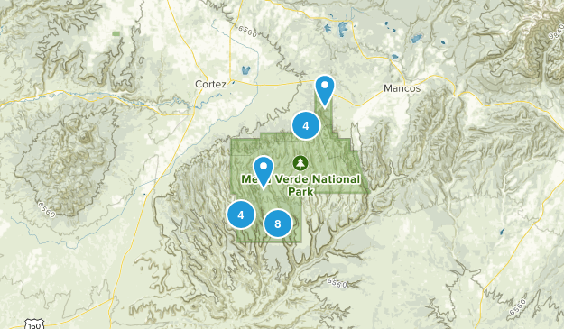 Mesa Verde National Park Map