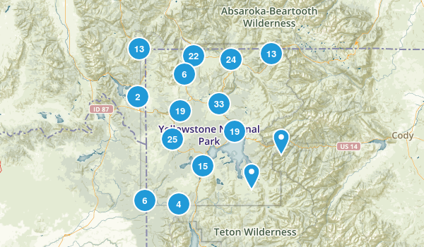 Best Trails in Yellowstone National Park AllTrails