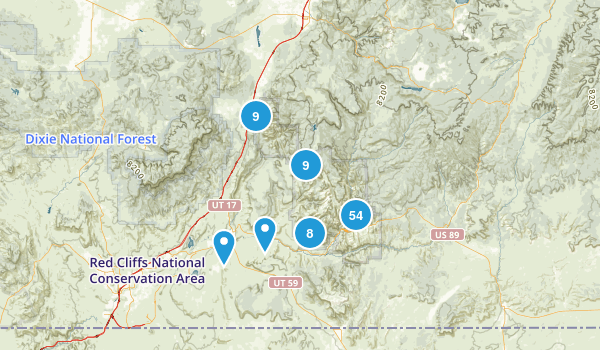 Best Trails In Zion National Park Photos Reviews - Map of zion national park