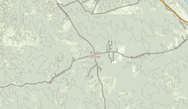 Bladon Springs State Park Map
