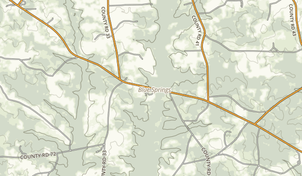Blue Springs State Park Map