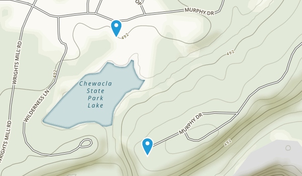 Chewacla State Park Map