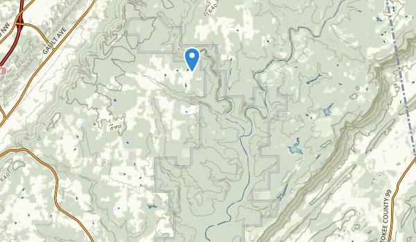 DeSoto State Park Map