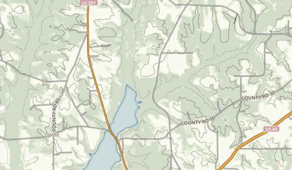 Frank Jackson State Park Map