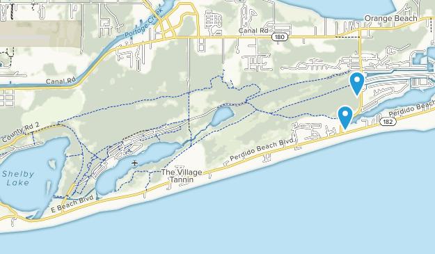 Gulf State Park Map