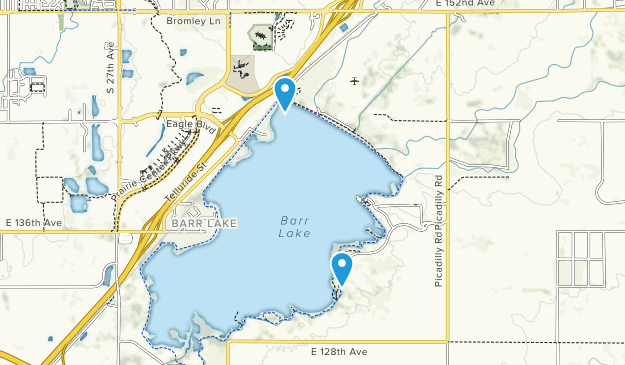 Barr Lake State Park Map