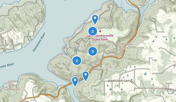 Lake Guntersville State Park Map