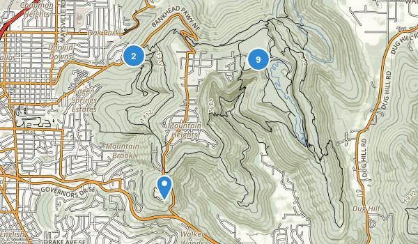 Monte Sano State Park Map