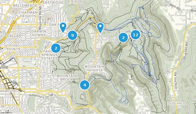 Best Trails in Monte Sano State Park - Alabama | AllTrails on trail map print, trail map design, calendar pdf, globe pdf,
