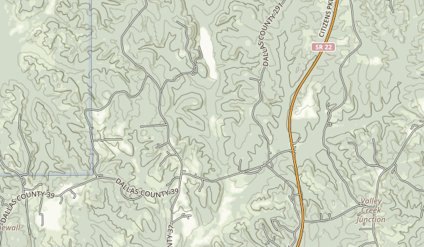 Paul M. Grist State Park Map