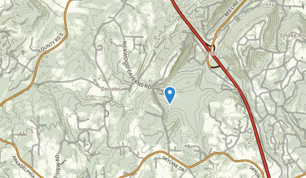 Rickwood Caverns Map