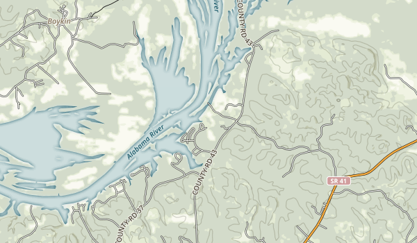 Roland Cooper State Park Map