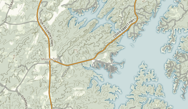 Wind Creek State Park Map