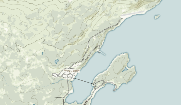 Baranof Castle State Historical Site Map