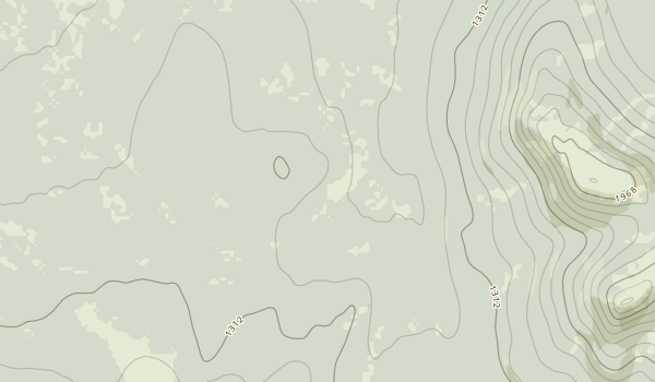 Bishop Creek Day Use Area Map