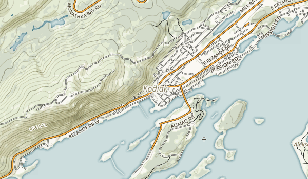 Buskin River State Recreational Site Map