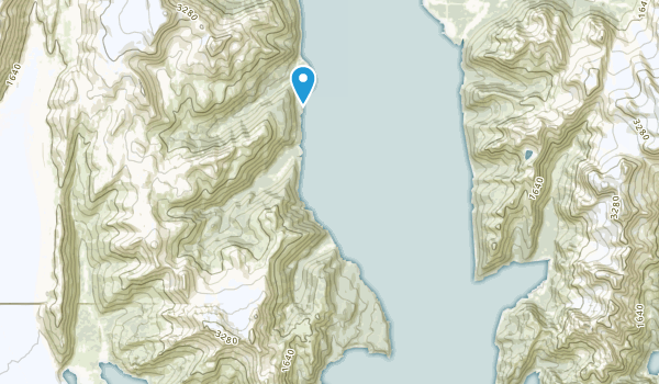 Caines Head State Recreation Area Map