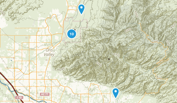 Catalina State Park Map