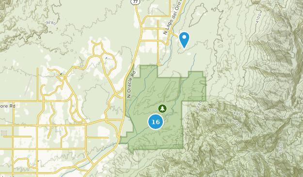 Parque estatal catalina Map