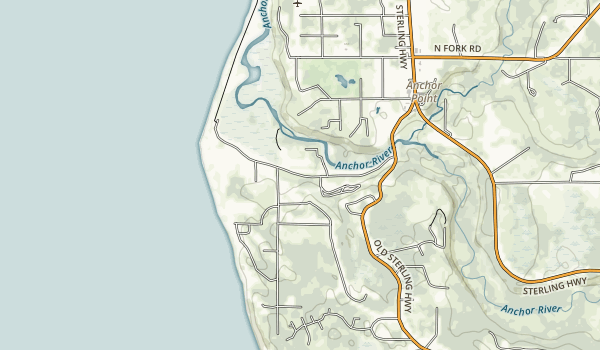 Coho Campground Map