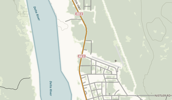 Delta State Recreational Site Map