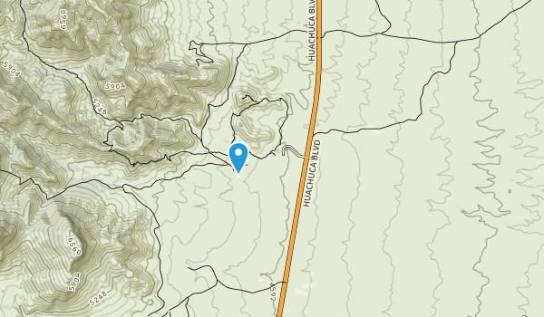 Kartchner Caverns State Park Map