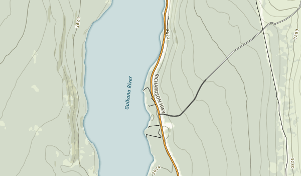Donnelly Creek State Recreational Site Map