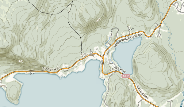 Eagle Beach State Recreational Area Map