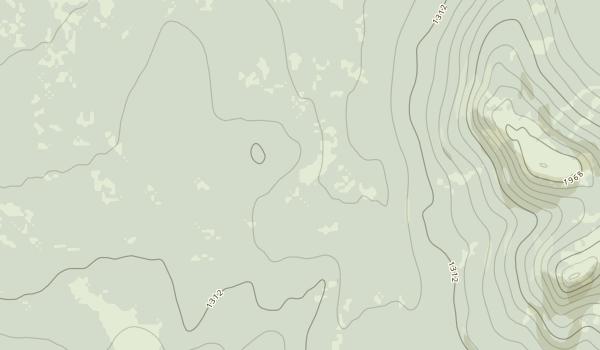 Eklutna Lake Campground Map