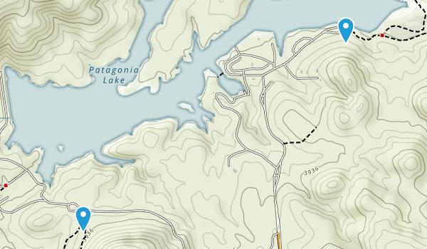 Patagonia Lake State Park Map