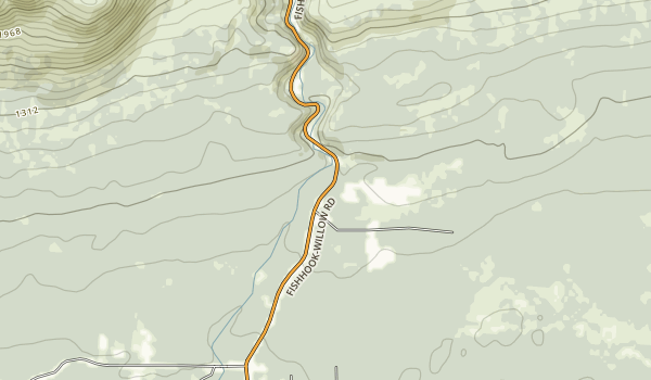 Gold Mint Trailhead Map
