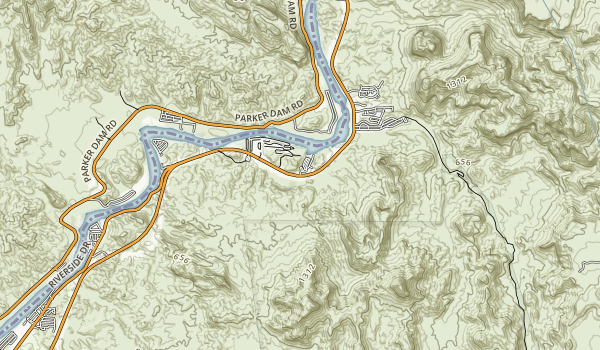 River Island State Park Map