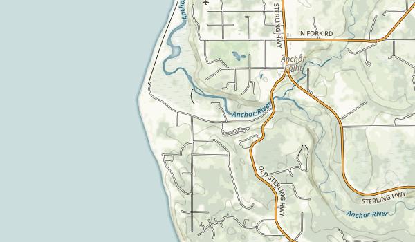 Halibut Campground Map